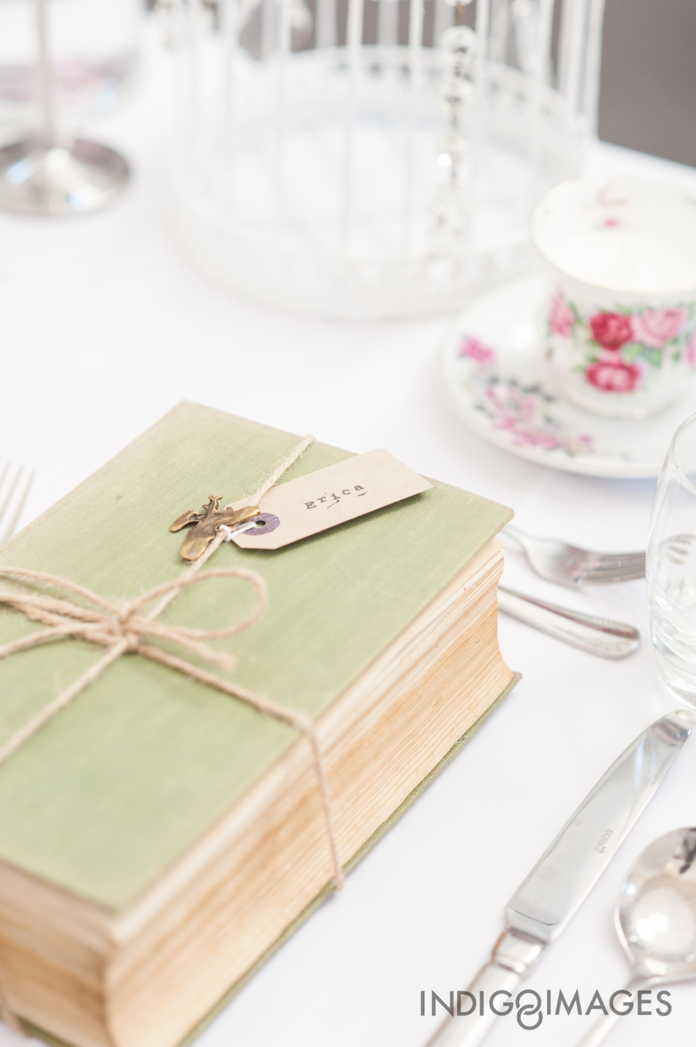 Wedding Favours - Antique books