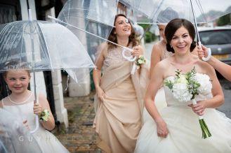 Rainy Wedding!