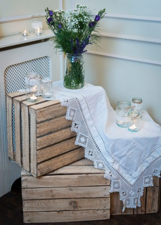 Wedding Decoration Crates