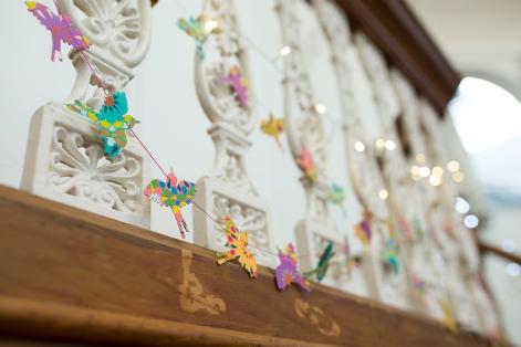 Bright Wedding Decorations