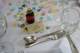 DIY Vintage Wedding Favours